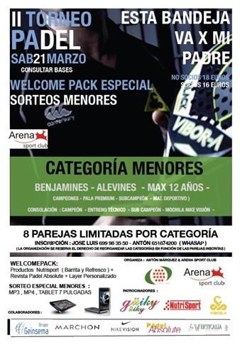 Torneo Padel Arena Sport Club