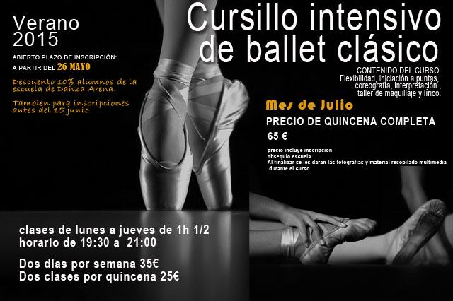 Curso intensivo Ballet Clásico